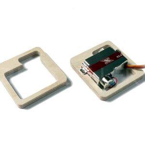 Symbolbild, Abbildung zeigt Rahmen für X08H V5, Lieferung ohne Servo