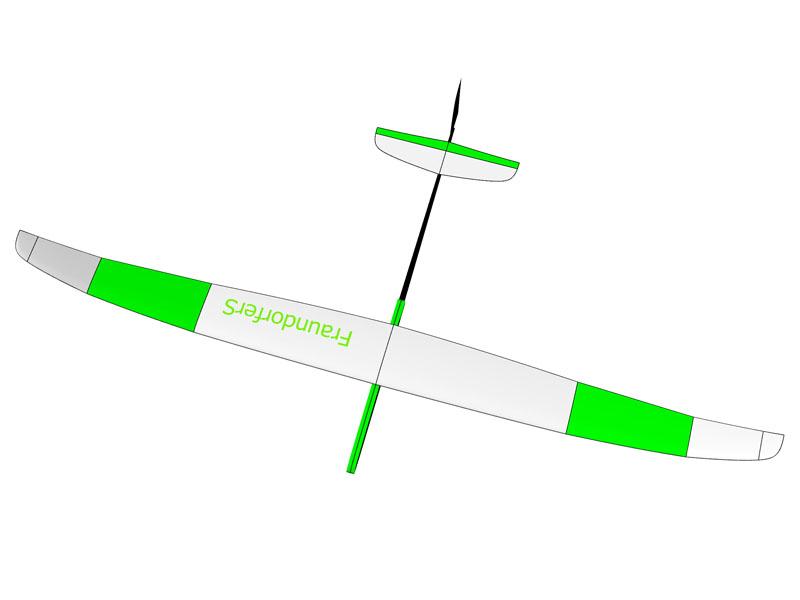 Symbolbild, Abbildung zeigt komplettes und flugfertiges Modell!