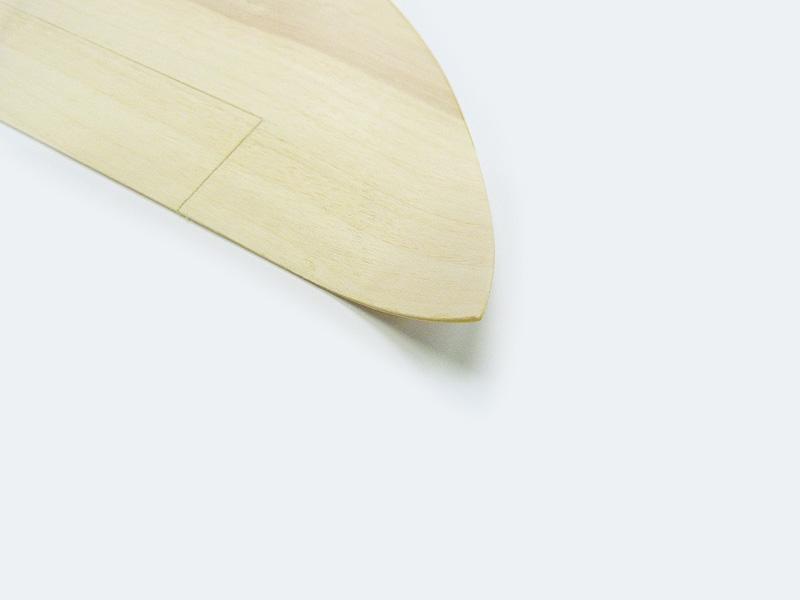 Randbögen fertig verschliffen und in der Form verpresst (MEFISTO)